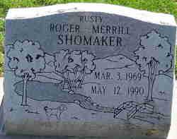 """Roger Merrill """"Rusty"""" Shomaker"""