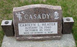 Carolyn L <I>Heater</I> Casady