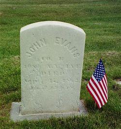 Pvt John Evans
