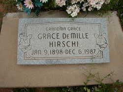 Grace <I>DeMille</I> Hirschi