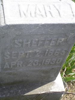 Mary <I>Arnold</I> Sheffer