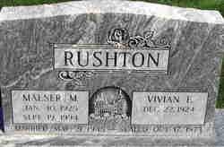 Maeser Millard Rushton