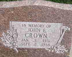 John Eugene Crown