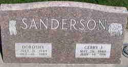 Gerry J Sanderson