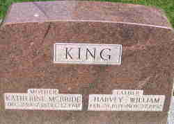 Katherine Mary <I>McBride</I> King