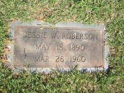 Jessie William Roberson