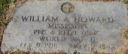 PFC William Archie Howard