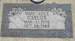 Mary Alice Carlos