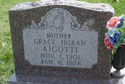 Grace <I>Horan</I> Aigotti