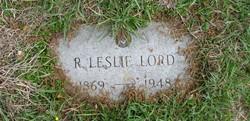 Richard Leslie Lord