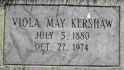 Viola May <I>Gibson</I> Kershaw