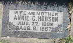 Annie <I>Cook</I> Hodson