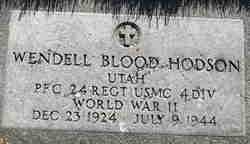 Wendell Blood Hodson