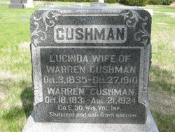 Lucinda <I>McClenahan</I> Cushman