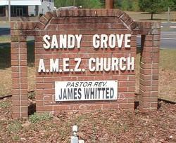Sandy Grove AME Zion Church Cemetery