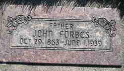 John Forbes, III