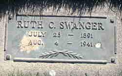Ruth <I>Cherry</I> Swanger