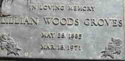 Lillian May <I>Wood</I> Groves