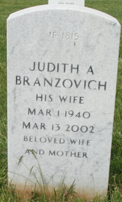 Judith A <I>Stief</I> Branzovich
