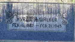 Hyrum Alfred Walker