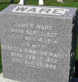 Rebecca <I>Simmons</I> Ware