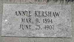 Annie Adeline Kershaw