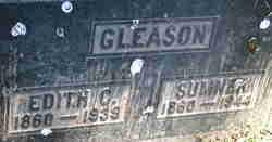 Edith Gertrude <I>Crawford</I> Gleason