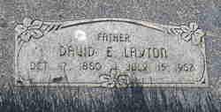 David Edwin Layton