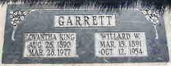 Willard Winner Garrett