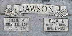 Lillie <I>Young</I> Dawson