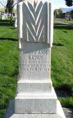 Mary Ann <I>Phillips</I> Lewis