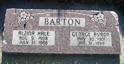 Alzina <I>Hale</I> Barton