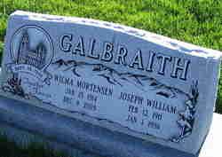 Joseph William Galbraith