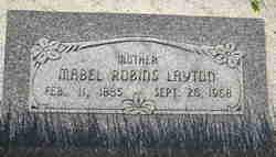 Mabel Isabel <I>Robins</I> Layton