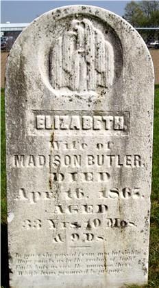 Elizabeth <I>Pratt</I> Butler