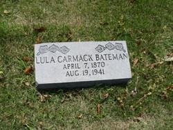 Lula <I>Carmack</I> Bateman