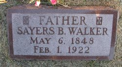 "Sayers Bratton ""S.B."" Walker"
