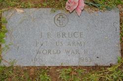 J R Bruce