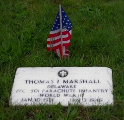 PFC Thomas Irvin Marshall