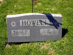 Mary A <I>Burnette</I> Howell