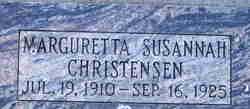 Marguretta Susannah Christensen