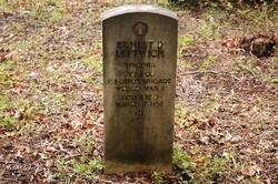 Pvt Ernest D Leftwich