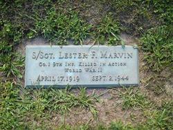 Sgt Lester F. Marvin