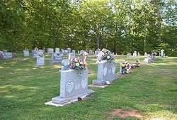 Dentons Chapel Methodist Church Cemetery