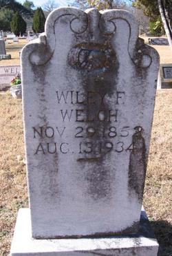 Wiley Franklin Welch