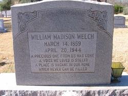 William Madison Welch