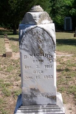 Capt David Squire Maggard