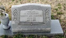 Dorothy Ann Crawford