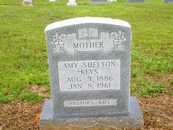 Amy Lavinia <I>Shelton</I> Keys