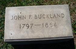 John F Buckland